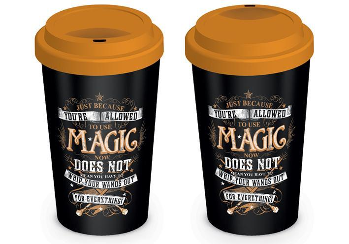 HARRY POTTER - Travel Mug 340 ml - Magic