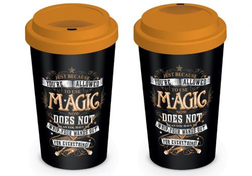 HARRY POTTER - Mug de voyage 340 ml - Magic