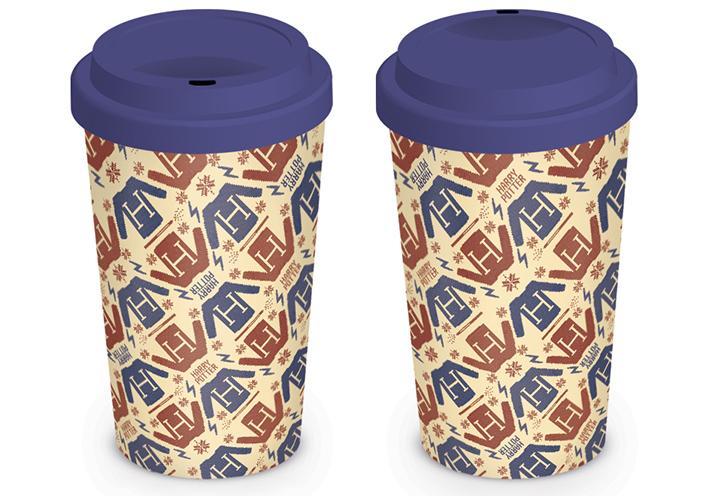 HARRY POTTER - Travel Mug 340 ml - Jumper Pattern