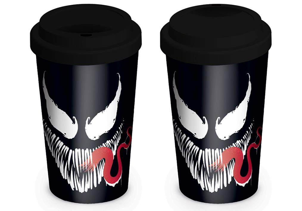 MARVEL - Travel Mug 340 ml - Venom Face