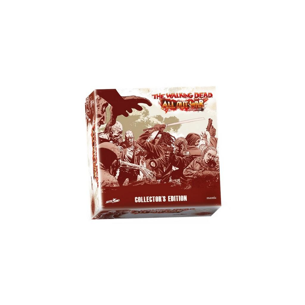 THE WALKING DEAD - All Out War - Collector - Board Game - 'V. Ang'