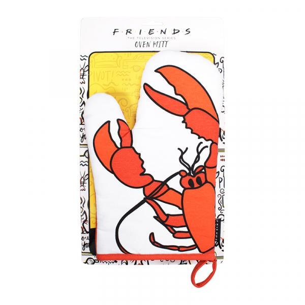 FRIENDS - Oven Mitt - Lobster