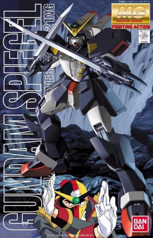 GUNDAM - MG 1/144 GF13-02NG Gundam Spigel - Model Kit