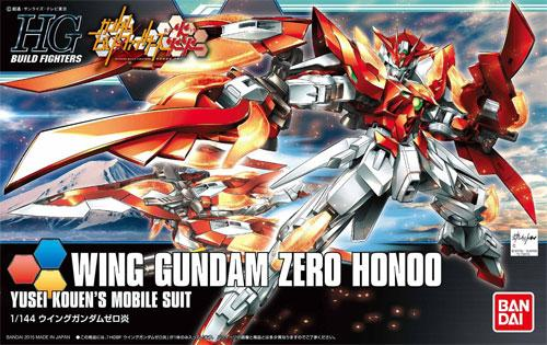 GUNDAM - HGBF Wing Gundam Zero Honoo 1/144 - Model Kit