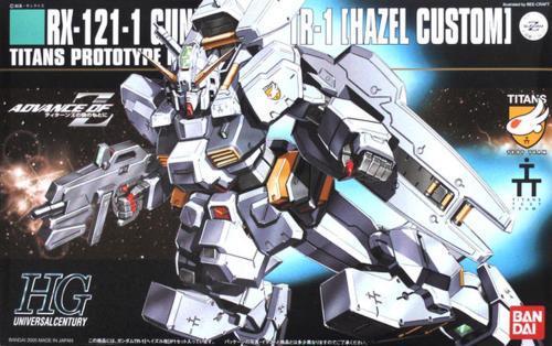 GUNDAM - HGUC 1/144 Hazel Kai RX-121-1 Gundam - Model Kit