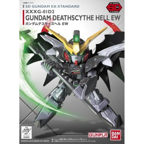 GUNDAM - SD Gundam Ex-Standard 012 Deathscythe Hell EW - Model Kit 8cm