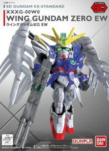 GUNDAM - SD Gundam Ex-Standard 004 Wing Zero - Model Kit 8cm