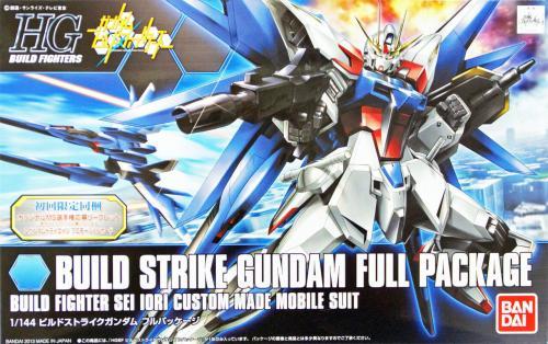 GUNDAM - HGBF Build Strike Gundam Full Package 1/144 - Model Kit