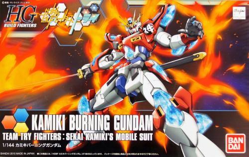 GUNDAM - HGBF Kamiki Burning Gundam 1/144 - Model Kit