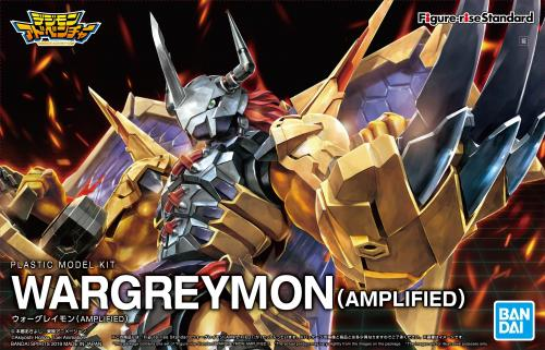 DIGIMON - Figure-rise Standard Wargreymon Amplified - Model Kit