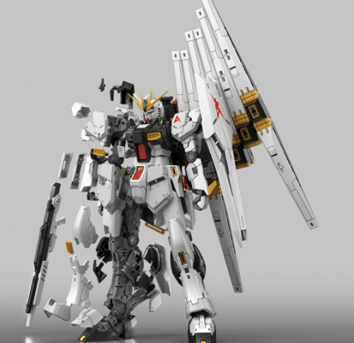 GUNDAM - RG 1/144 v Gundam - Model Kit 13cm