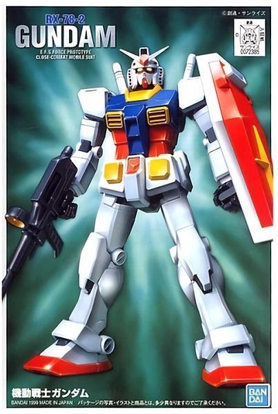 GUNDAM - 1/144 FG Gundam - Model Kit 13cm