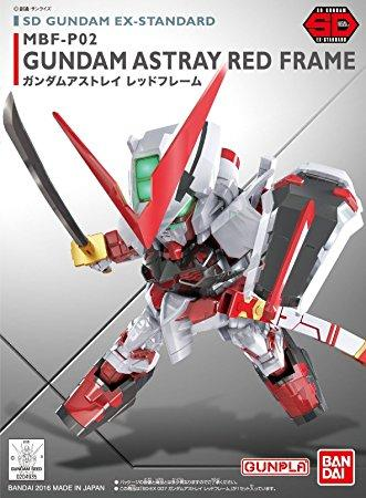 GUNDAM - SD Gundam Ex-Standard 007 Astray Red Frame - Model Kit 8cm