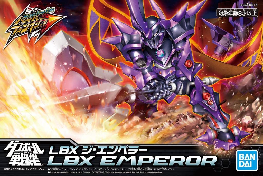 GUNDAM - LBX - Hyper Function Emperor - Model Kit