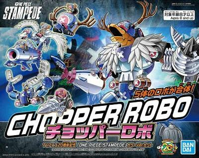 ONE PIECE - Model Kit - Chopper Robo 20th anniversary box set - 22cm