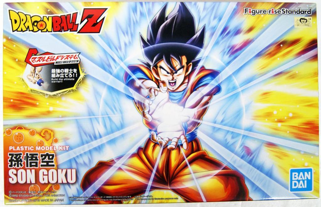DRAGON BALL - Son Goku - Model Kit Figure-rise Standard_1