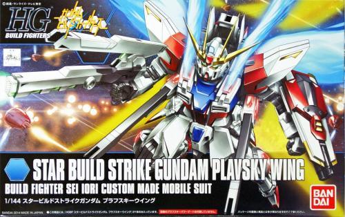 GUNDAM - HGBF Star Build Strike Gundam Plavsky Wing 1/144 - Model Kit