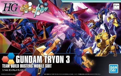 GUNDAM - HG 1/144 Gundam Tryon 3 - Model Kit