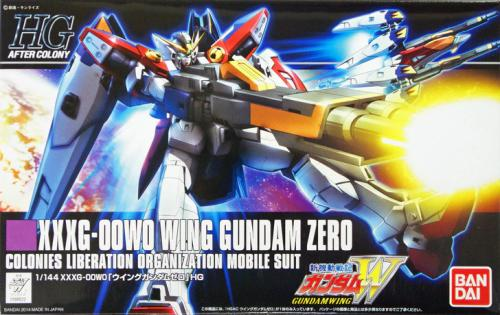 GUNDAM - HGAC Wing Gundam Zero - Model Kit - 13cm