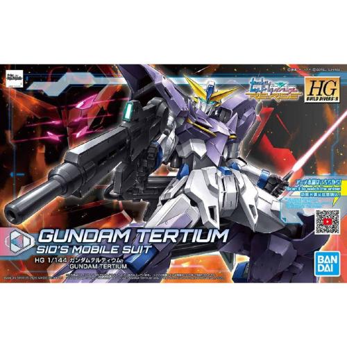 GUNDAM - HGBD:R 1/144 Gundam Tertium Sid's Mobile Suit - Model Kit