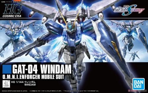 GUNDAM - HG 1/144 GAT-04 Windam D.M.N.I.ENFORCER - Model Kit