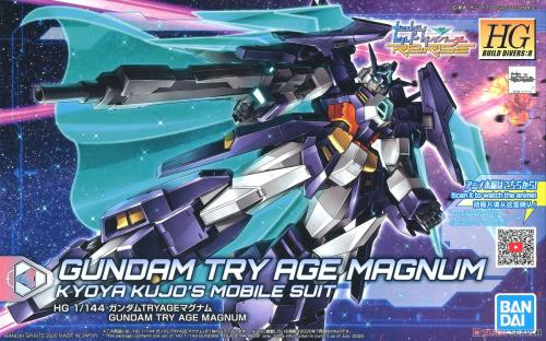 BUILD DIVERS - HGDB:R 1/144 Gundam Try Age Magnum - Model Kit