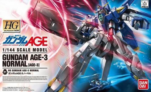GUNDAM - HG Gundam Age-3 Normal 1/144 - Model Kit