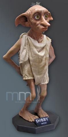 HARRY POTTER - Life Sized Dobby Statue - 95cm_1