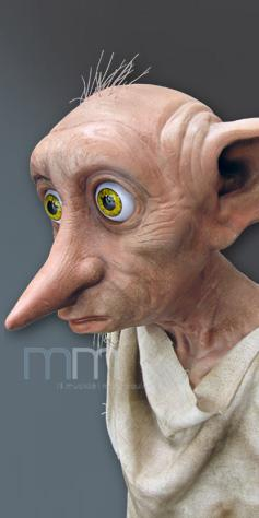 HARRY POTTER - Life Sized Dobby Statue - 95cm_3