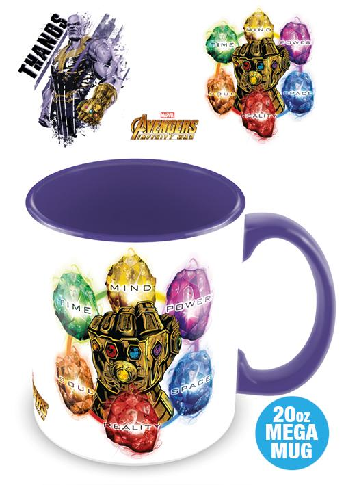 AVENGERS INFINITY WAR - Mega Mug 568 ml - Thanos