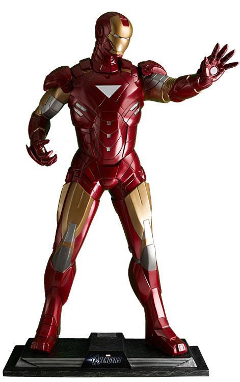 MARVEL - Iron Man Avengers Life-Sized Statue With LED - 208cm