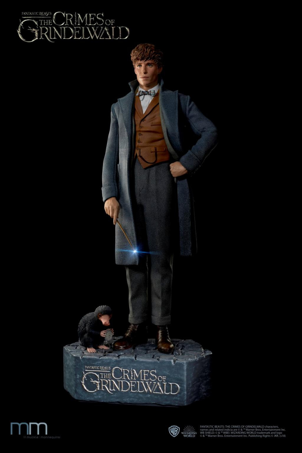FANTASTIC BEASTS - Newt with Niffler Life-Sized Statue - 220cm_2