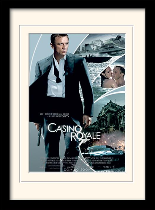 JAMES BOND - Mounted & Framed 30X40 Print - Casino Royale_1