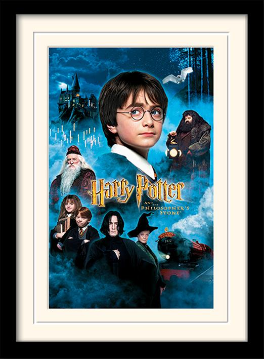 HARRY POTTER - Mounted & Framed 30X40 Print - Philosophers Stone