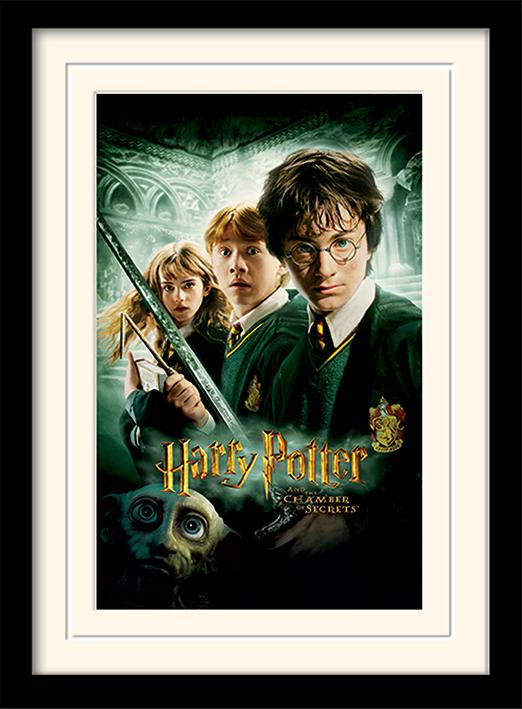 HARRY POTTER - Mounted & Framed 30X40 Print - Chamber of Secrets_1