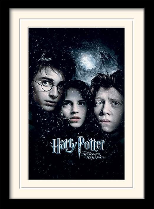 HARRY POTTER - Mounted & Framed 30X40 Print - Prisoner of Azkaban