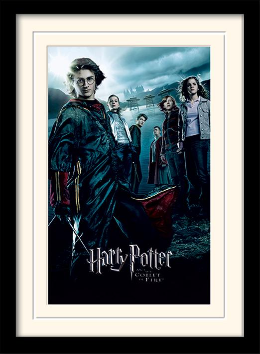 HARRY POTTER - Mounted & Framed 30X40 Print - Goblet of Fire