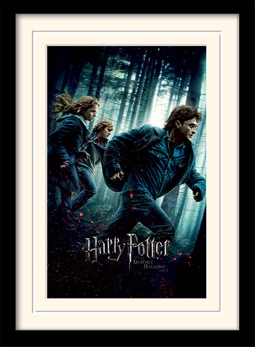 HARRY POTTER - Mounted & Framed 30X40 Print - Deathly Hallows Part 1