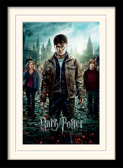 HARRY POTTER - Mounted & Framed 30X40 Print - Deathly Hallows Part 2