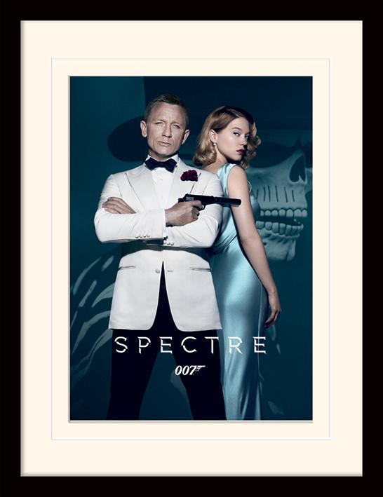 JAMES BOND - Mounted & Framed 30X40 Print - Spectre_1