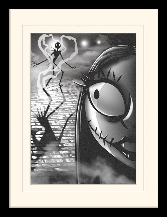 NIGHTMARE BEFORE CHRISTMAS - Mounted & Framed 30X40 Print - Misfit