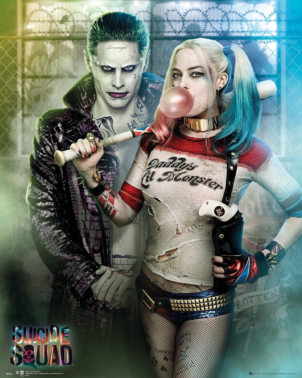 SUICIDE SQUAD - Mini Poster 40X50 - Joker & Harley Quinn