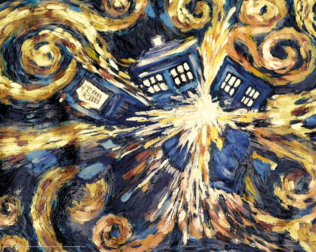 DOCTOR WHO - Mini Poster 40X50 - Exploding Tardis