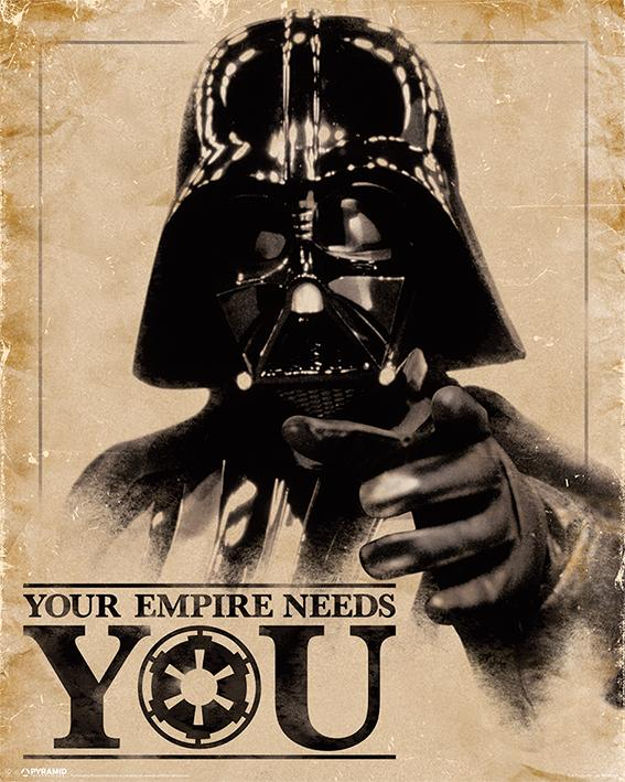 STAR WARS - Mini Poster 40X50 - Your Empire Needs You