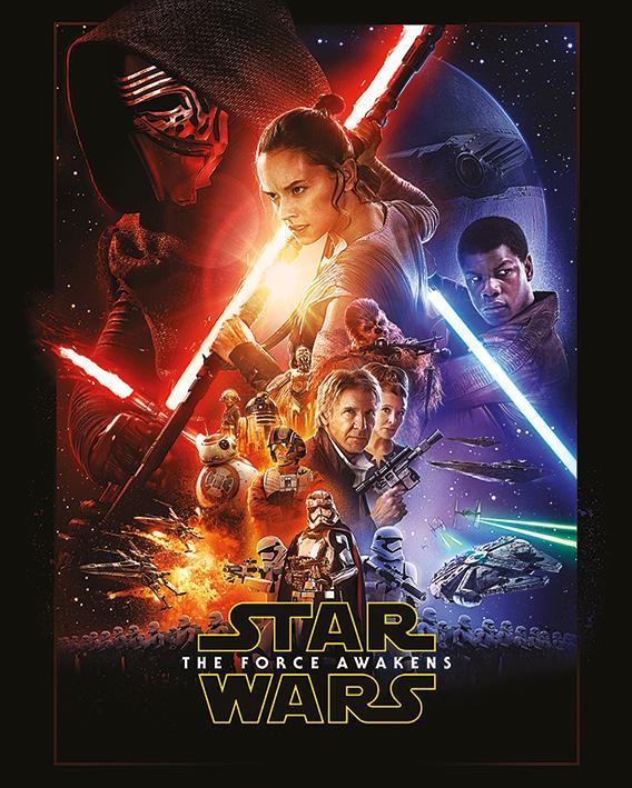 STAR WARS - Mini Poster 40X50 - Episode VII