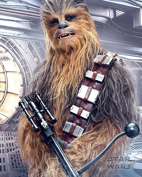 STAR WARS - Mini Poster 40X50 - Chewbacca Bowcaster