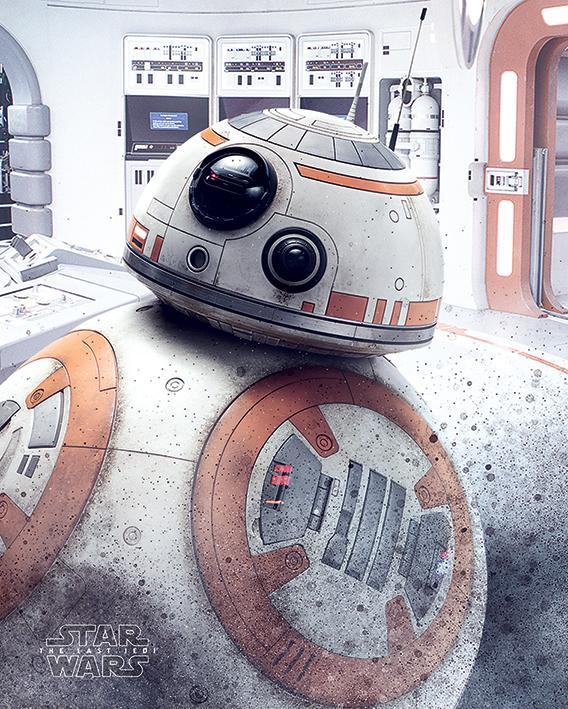 STAR WARS - Mini Poster 40X50 - BB-8 Peek