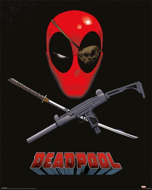 MARVEL - Mini Poster 40X50 - Deadpool