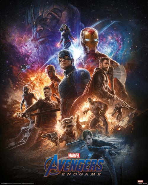 MARVEL - Mini Poster 40X50 - Avengers: Endgame