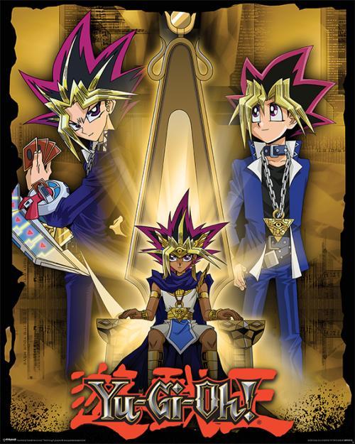 YU-GI-OH! - Pharaoh Atem - Mini Poster 40x50cm